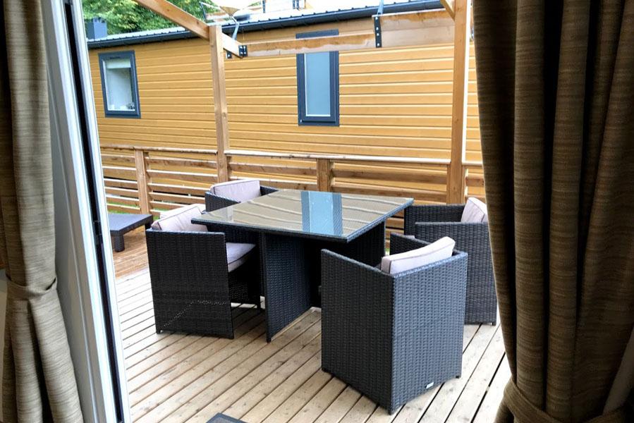 Eurocamp Aspect terras Duinrell - AllinMam.com