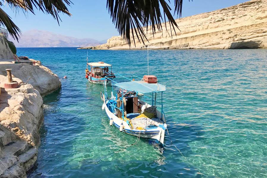 Matala, Kreta - AllinMam.com