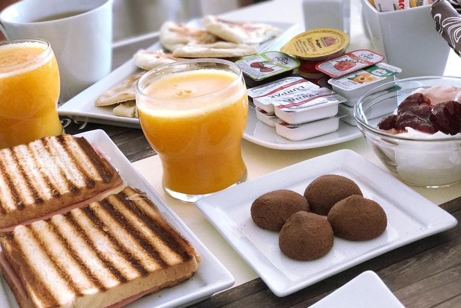Hotel Pallada ontbijt - AllinMam.com