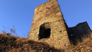 Met fakkels door het Belgische Chateau de la Roche - AllinMam.com