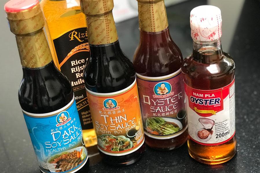 kip met thaise saus - AllinMam.com