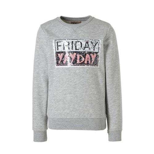 Cars sweater met wrijfpailletten van dagen - AllinMam.com