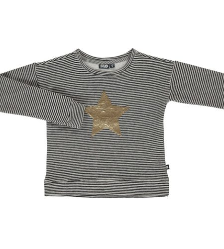 Flo sweater met reversible lovertjes - AllinMam.com