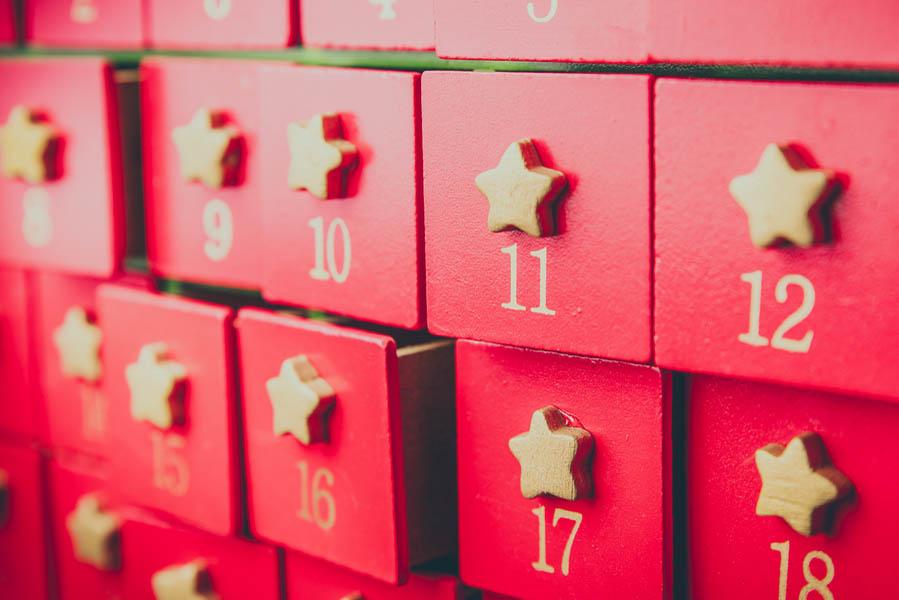 Adventskalender maken van ladekastje - AllinMam.com
