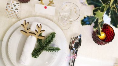 Hema kerstversiering kerstdiner tafelaankleding - AllinMam.com