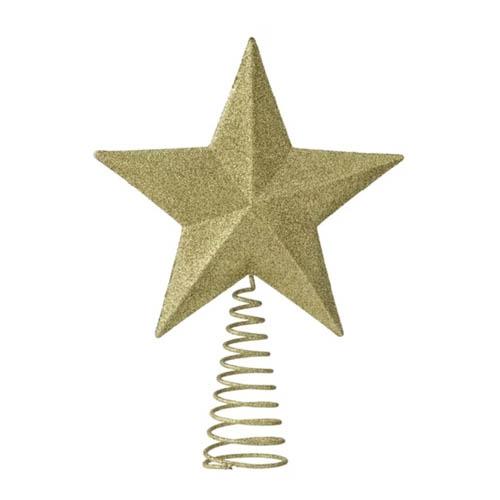 Hema kerstversiering gouden piek voor kerstboom - AllinMam.com