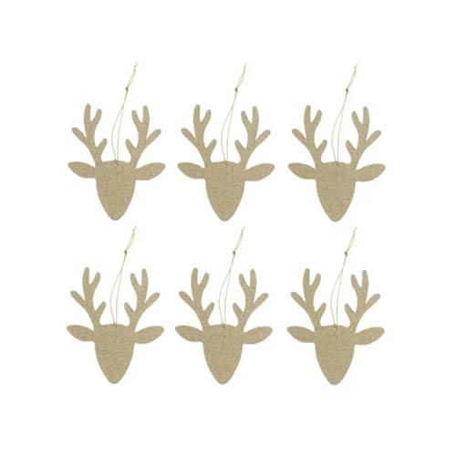 Hema kerstversiering rendier hangers voor in de kerstboom - AllinMam.com