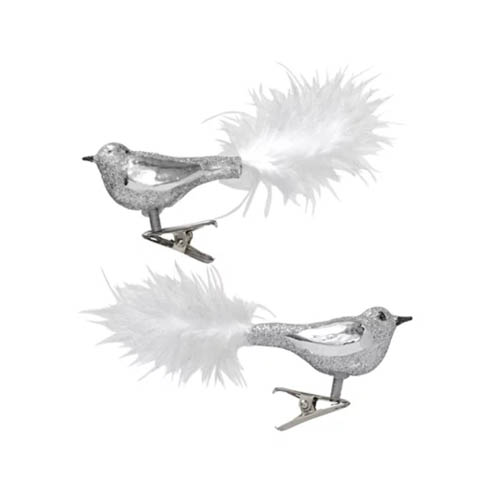 Hema kerstversiering vogels op knijpertje voor in de kerstboom - AllinMam.com
