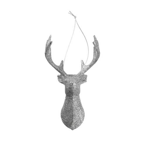 Hema kerstversiering zilveren rendier hanger voor in de kerstboom - AllinMam.com