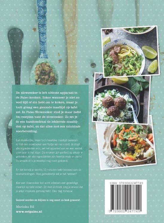 Marinka Bil Paleo slowcooker recepten kookboek