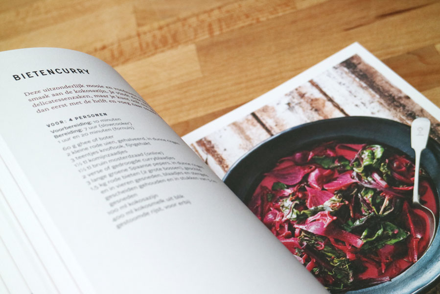 Slow cooked slowcooker recepten kookboek binnenkant