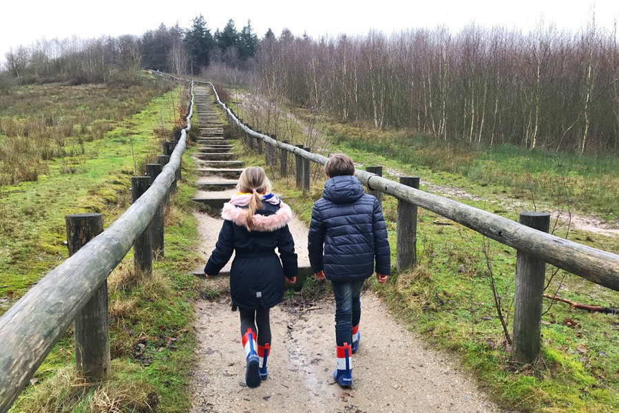 Landal Amerongse Berg wandelen Kwintelooyen - AllinMam.com