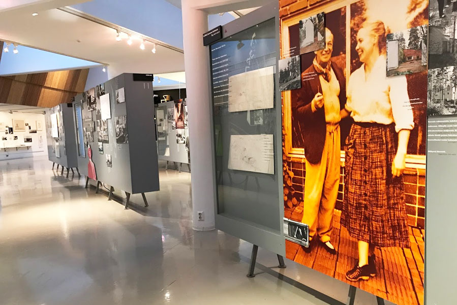 Alvar Aalto museum in Jyväskylä, Finland - AllinMam.com