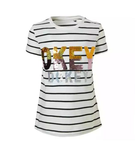 Here & There shirt met omkeerbare pailletten - AllinMam.com