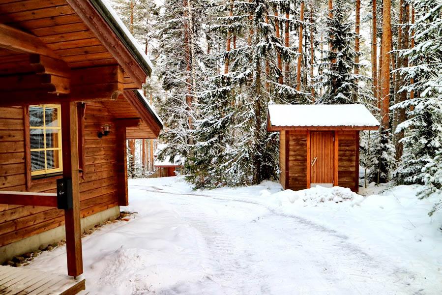 Lehmonkarki wooden log cabin - AllinMam.com