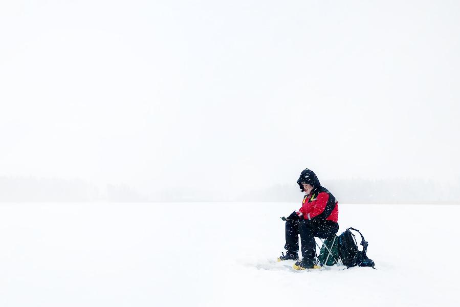 ijsvissen in Finland - AllinMam.com