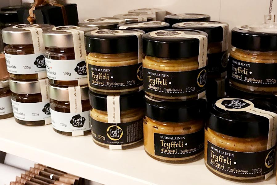 TryffDeli truffel products from Finland - AllinMam.com