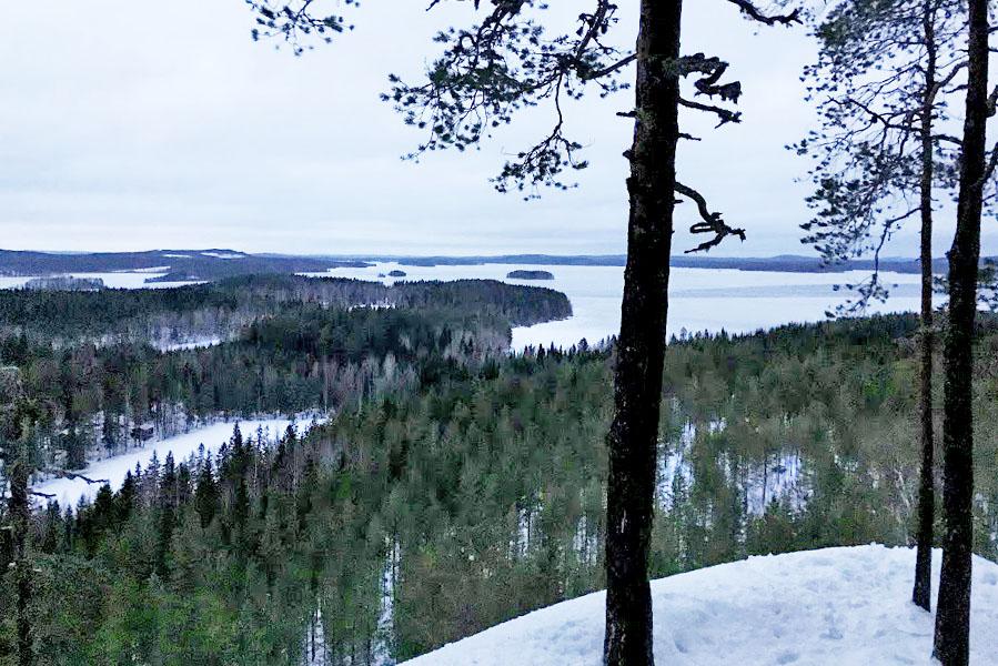 uitzicht vanaf Hyyppäänvuori, Finland - AllinMam.com