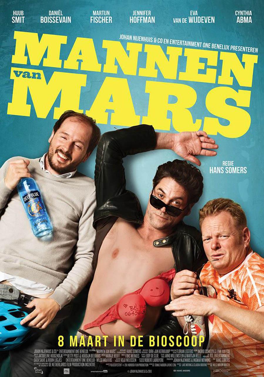 Win kaarten voor Mannen van Mars - AllinMam.com