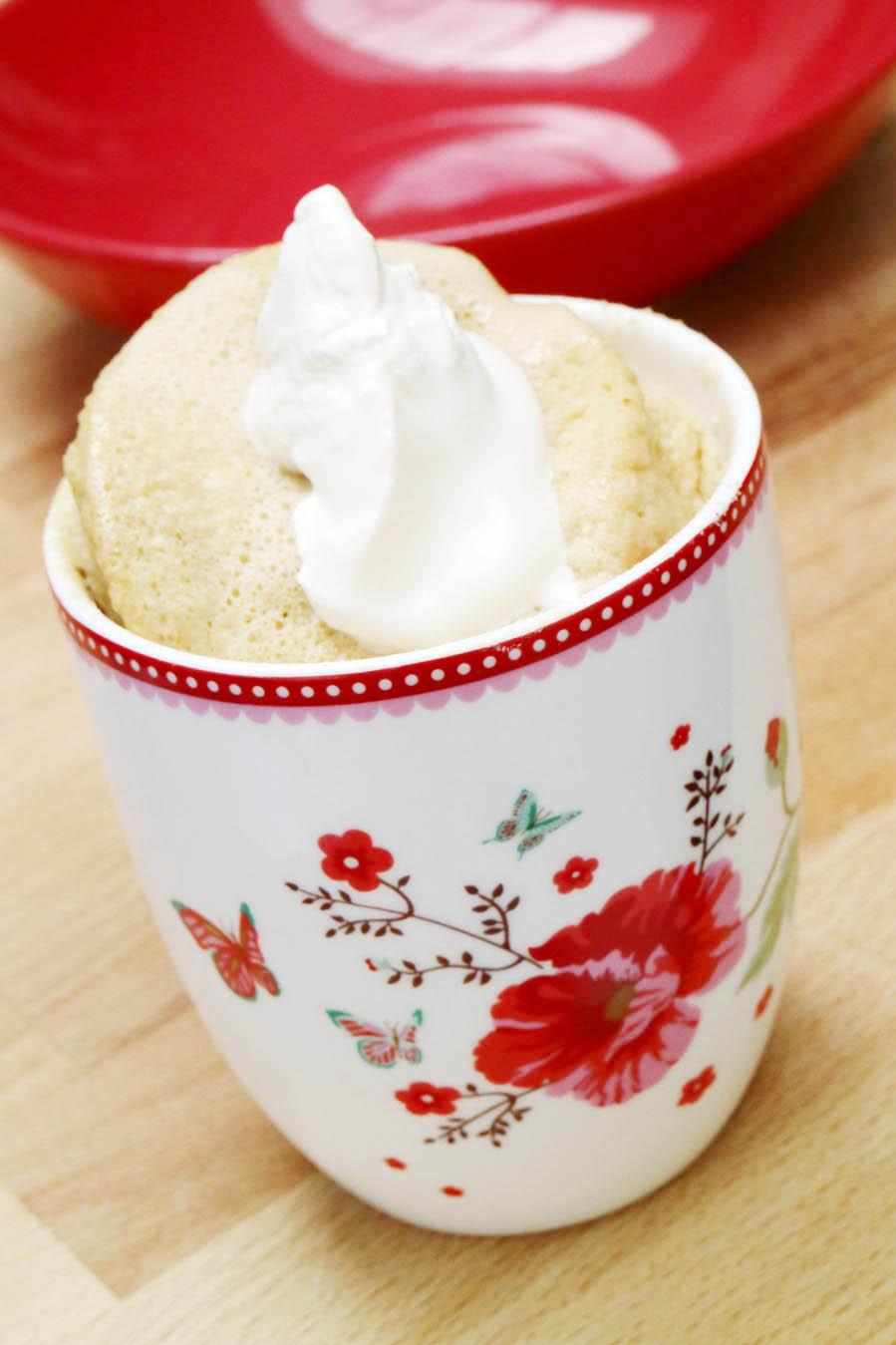 Recept voor keto mug cake - AllinMam.com