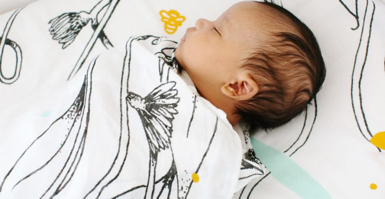 Win een limited gerbera swaddle - AllinMam.com