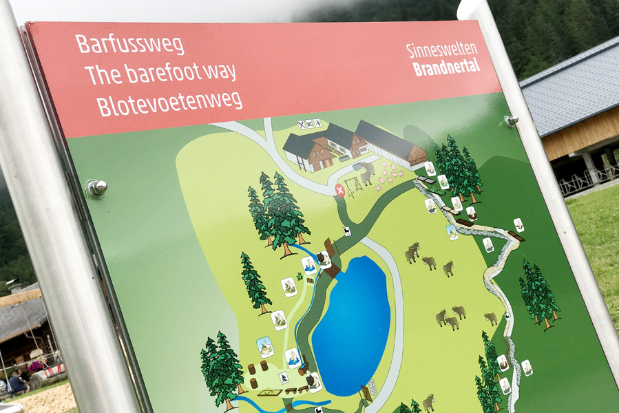 Natursprünge Path in Brandnertal - AllinMam.com
