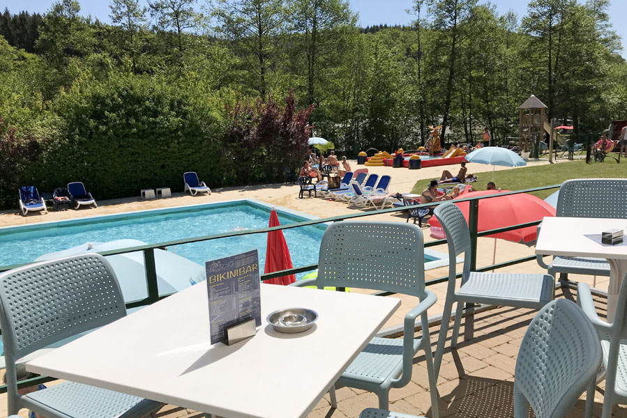 Kamperen in een lodgetent op Parc La Clusure in de Ardennen - AllinMam.com
