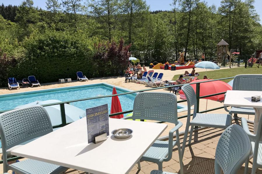 Kamperen in een lodgetent op Parc La Clusure in de Ardennen - AllinMam.com