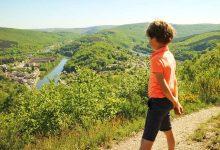 Uitzicht op de Maas - Op vakantie in Champagne-Ardenne - AllinMam.com