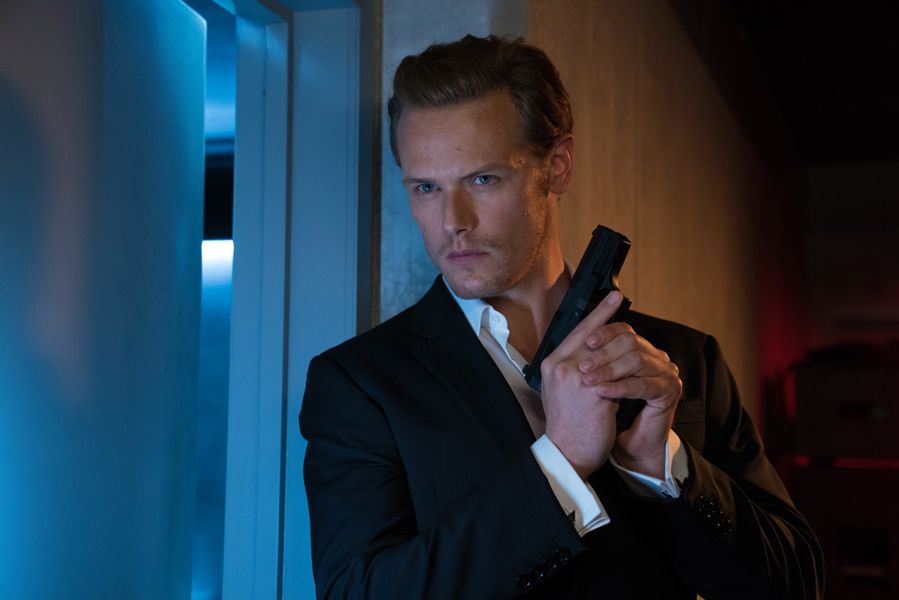 Outlander ster Sam Heughan in The Spy Who Dumped Me - AllinMam.com