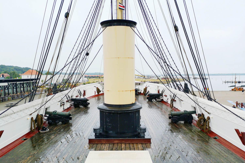 Wat te doen in Ebeltoft, Fregatten Jylland - AllinMam.com
