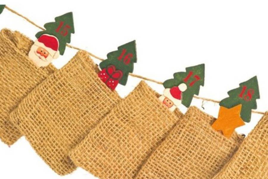 Adventskalender met jute zakjes - Adventskalender zelf vullen? Check deze leuke exemplaren! - AllinMam.com