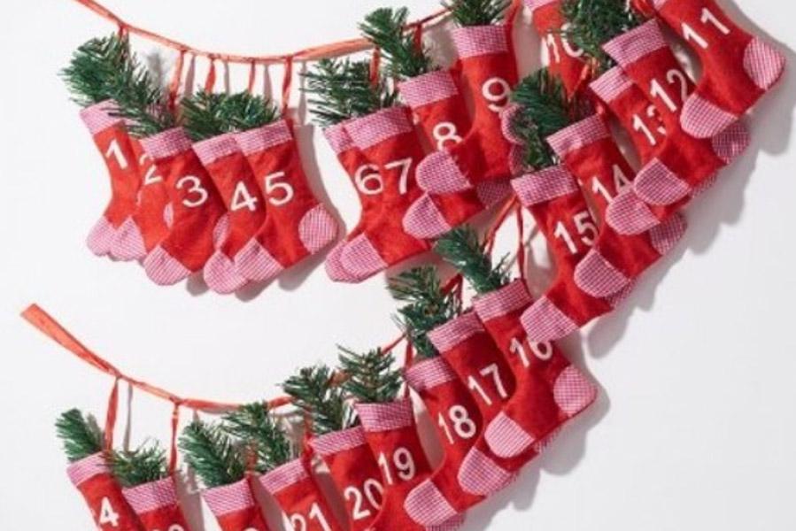 Adventskalender met sokken - Adventskalender zelf vullen? Check deze leuke exemplaren! - AllinMam.com
