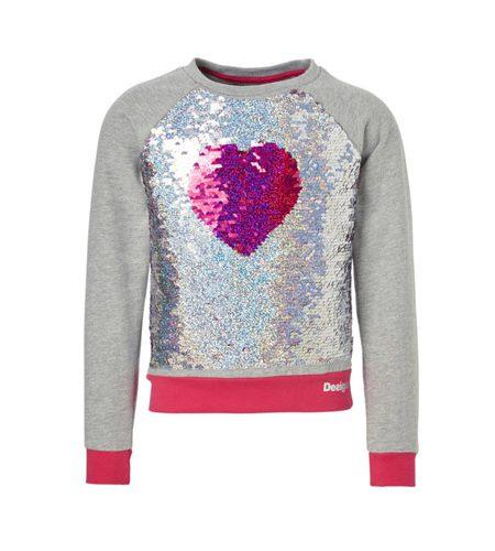 Desigual sweater met omkeerbare pailletten - AllinMam.com