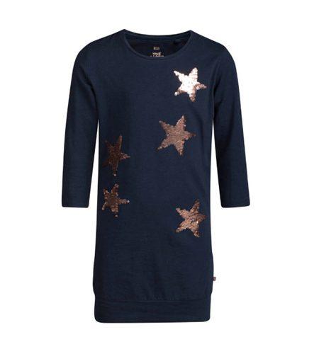 Jurkje met sterren pailletten omkeerbaar - AllinMam.com