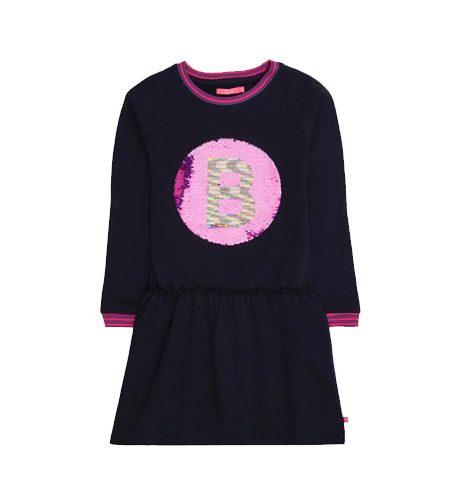LE BIG omkeerbare pailletten jurk - AllinMam.com