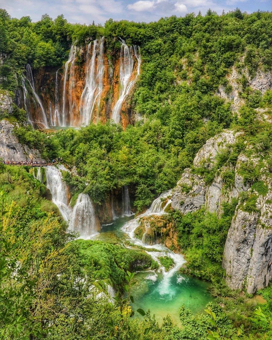 Plitvice meren Kroatië - AllinMam.com
