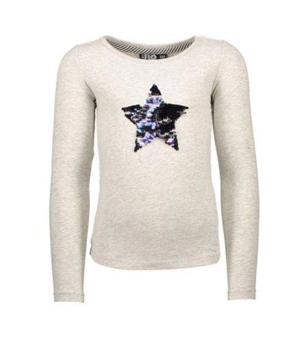 Omkeerbare pailletten sweater met ster - AllinMam.com