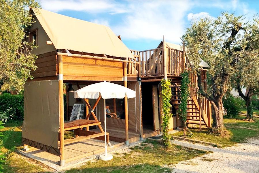 Airdreamer Camping Weekend, glamping aan het Gardameer - AllinMam.com