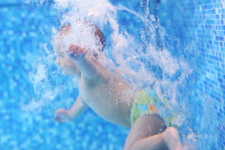 Een wasbare zwemluier of wegwerp zwemluiers? - AllinMam.com