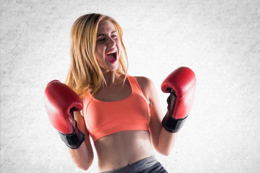 Dames doe eens gek, ga boksen! - AllinMam.com