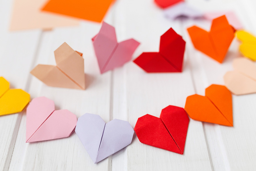 Slinger van origami - AllinMam.com
