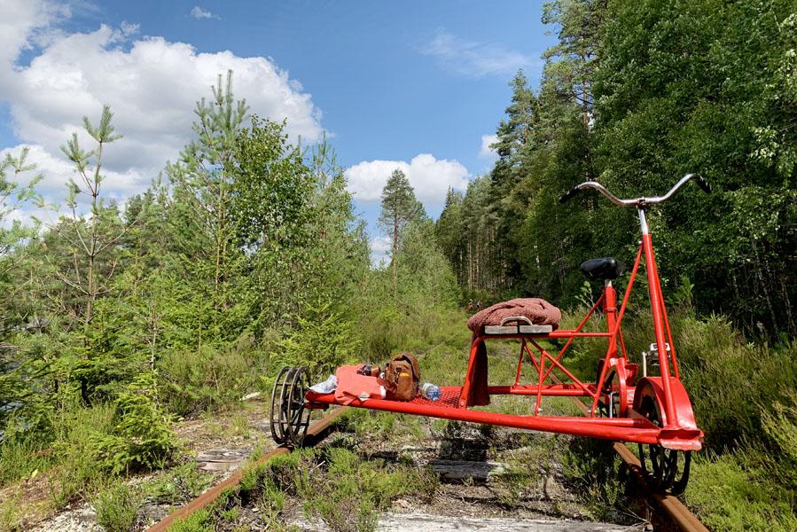 Gezinsvakantie in Zweden: Wat te doen in Värmland? Spoorfietsen in Värmland - AllinMam.com
