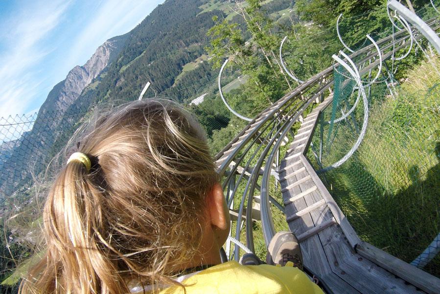 Landal Hochmontafon uitstapje naar Bewegungsberg Golm, Alpine-Coaster - AllinMam.com