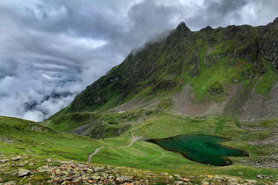 Hochjoch lake, wat te doen in de buurt van Landal Hochmontafon - AllinMam.com