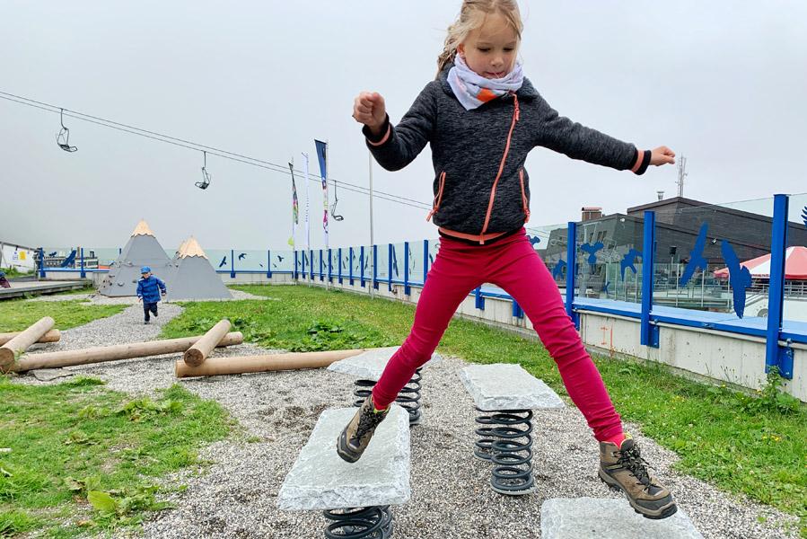 Speelplaats voor kinderen op Hochjoch - AllinMam.com