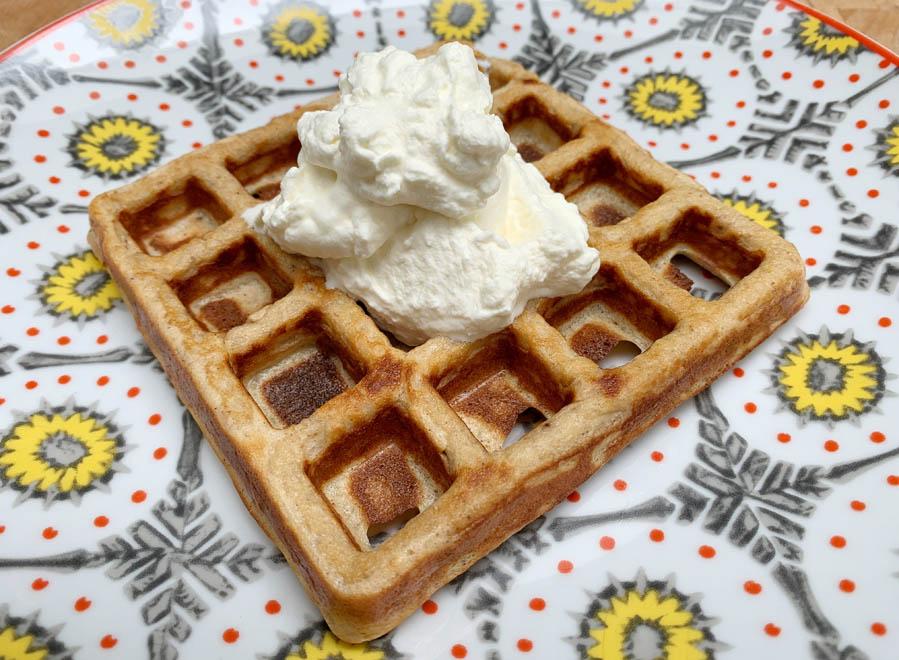 Chaffle, een koolhydraatarme wafel recept chaffle koolhydraatarme wafel - AllinMam.com