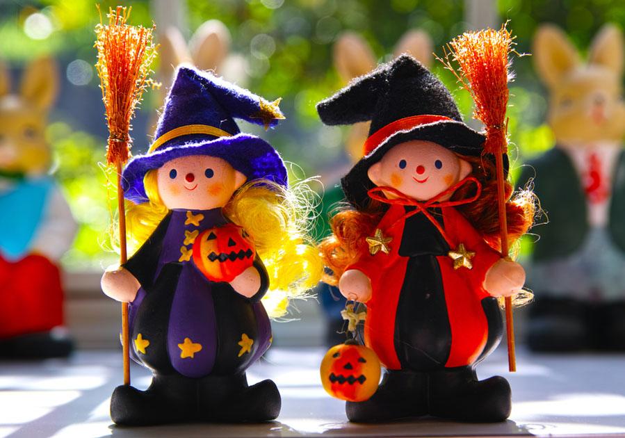 Halloween poppen - 15 Halloween ideeën voor in huis - AllinMam.com
