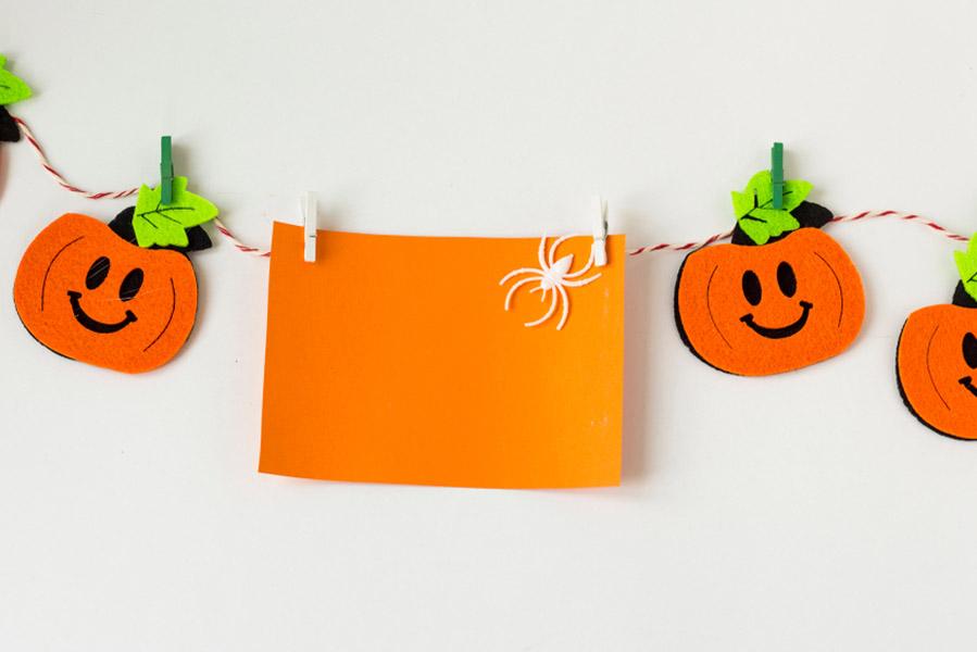 Halloween slinger - 15 Halloween ideeën voor in huis - AllinMam.com