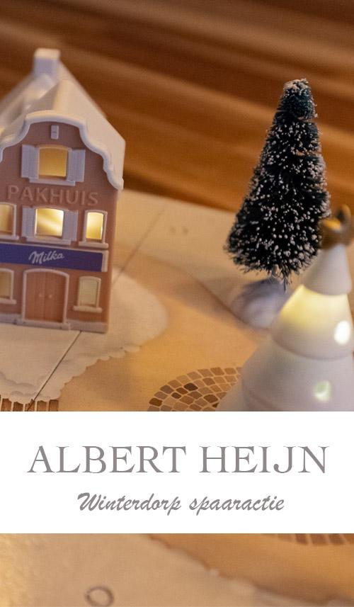 Albert Heijn winterdorp spaaractie; wat kun je er allemaal mee? - AllinMam.com